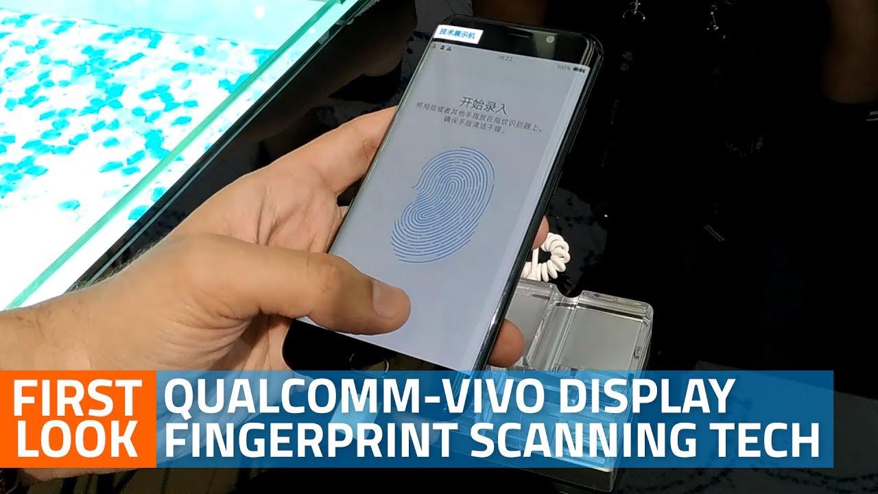 Qualcomm-Vivo Under-Display Fingerprint Sensor: First Look