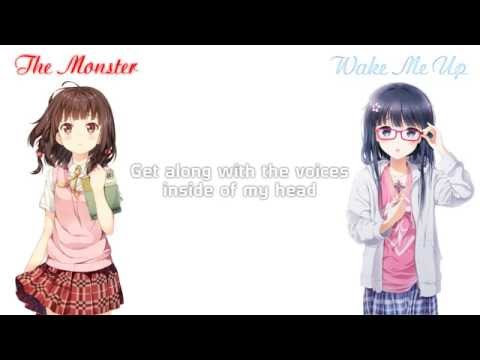 「Nightcore」→ The MonsterWake Me Up Acoustic Mashup  Switching Vocals