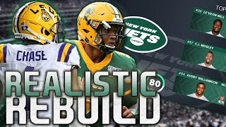Trey Lance and Ja'Marr Chase Are a LETHAL Combo! | Madden 21 New York Jets Realistic Rebuild