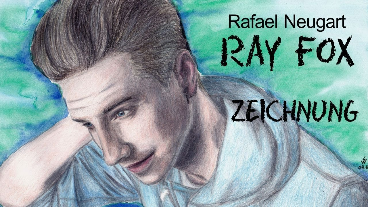 RayFox | Rafael Neugart | colored pencil portrait - YouTube
