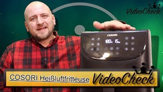 """✅Heißluftfritteuse Test 2019 """" COSORI Review"""
