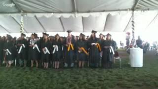 Humphreys College 2016 Graduation