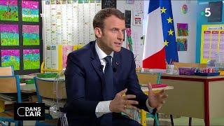 Macron au tableau : oral réussi ?  #cdanslair 12.04.2018