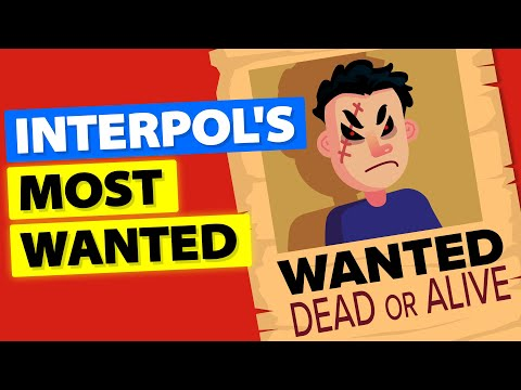 Most Wanted Americans by Interpol (2019)