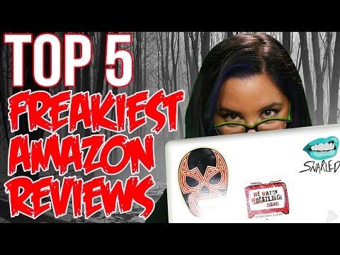 TOP 5 FREAKIEST AMAZON REVIEWS // Dark 5 | Snarled