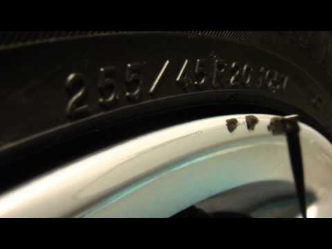 Fixing curbed rim Part 2: Fill in J-B Weld
