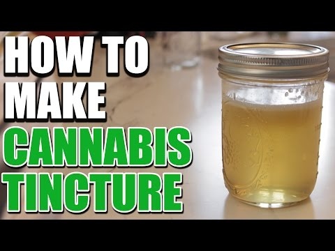 How to Make Cannabis Tincture (For Medical Use) | Cannabis Lifestyle TV