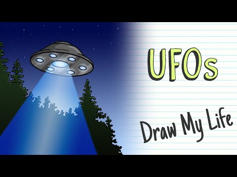 DO UFOs EXIST? | Draw My Life