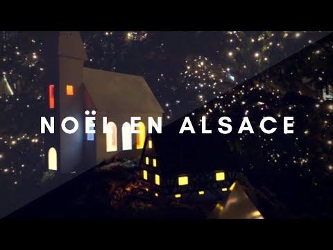 MARCHE DE NOËL EN ALSACE 2017 [OBERNAI]