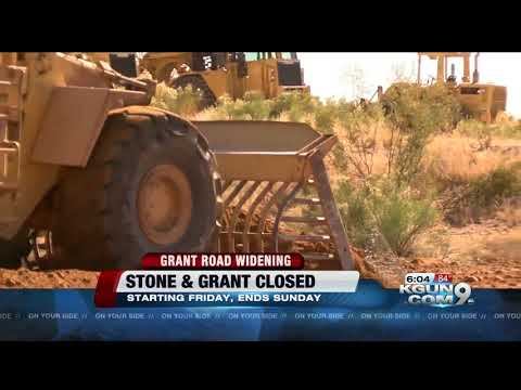 Grant Road and Stone Avenue intersection closure starts tomorrow evening