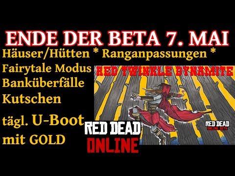 Ende der Beta 7. Mai Red Dead Redemption 2 Online Deutsch / German thumbnail