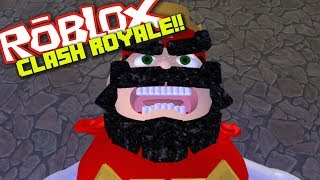 CLASH ROYALE IN ROBLOX!!