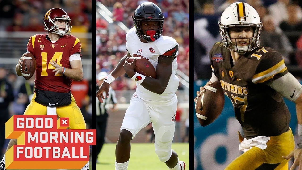 Which Qb Prospect Has The Most Raw Talent Good Morning Football Nfl Network Youtube