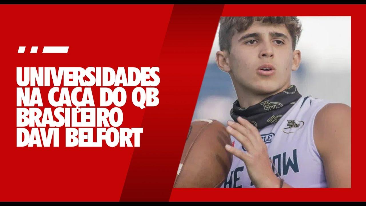 Alabama e Florida State ofertam bolsa para filho de Vitor Belfort