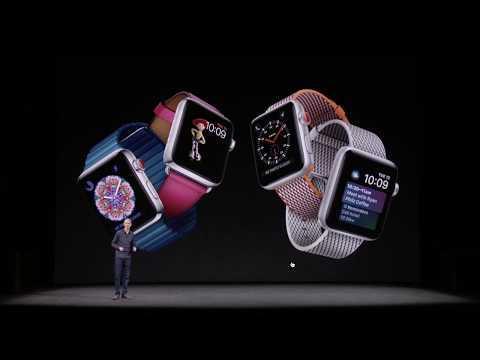 Apple Watch Series 3 Apple Event Keynote