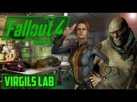 BUILDING WITH MODS - Virgils LABORATORY - FALLOUT 4