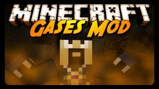 Minecraft Mod Review: GASES MOD! (Flammable, Explosive & More!) thumbnail