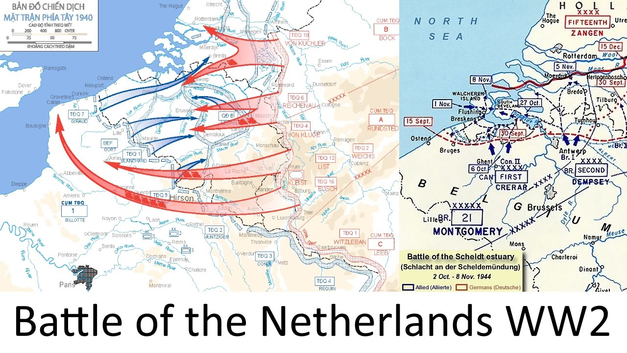 The Battle of the Netherlands 1940 WW2 every hour YouTube