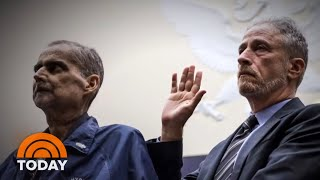 Jon Stewart Slams Senator Rand Paul For Stalling 9/11 Victims Funding | TODAY