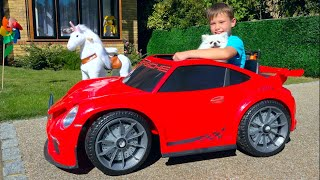 Car is real song for children by Max and Katy