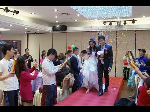 加拿大婚庆摄影摄像师视频 多伦多 士嘉堡婚庆国惠海鲜酒楼 婚礼 头盘上菜仪式 Doovi