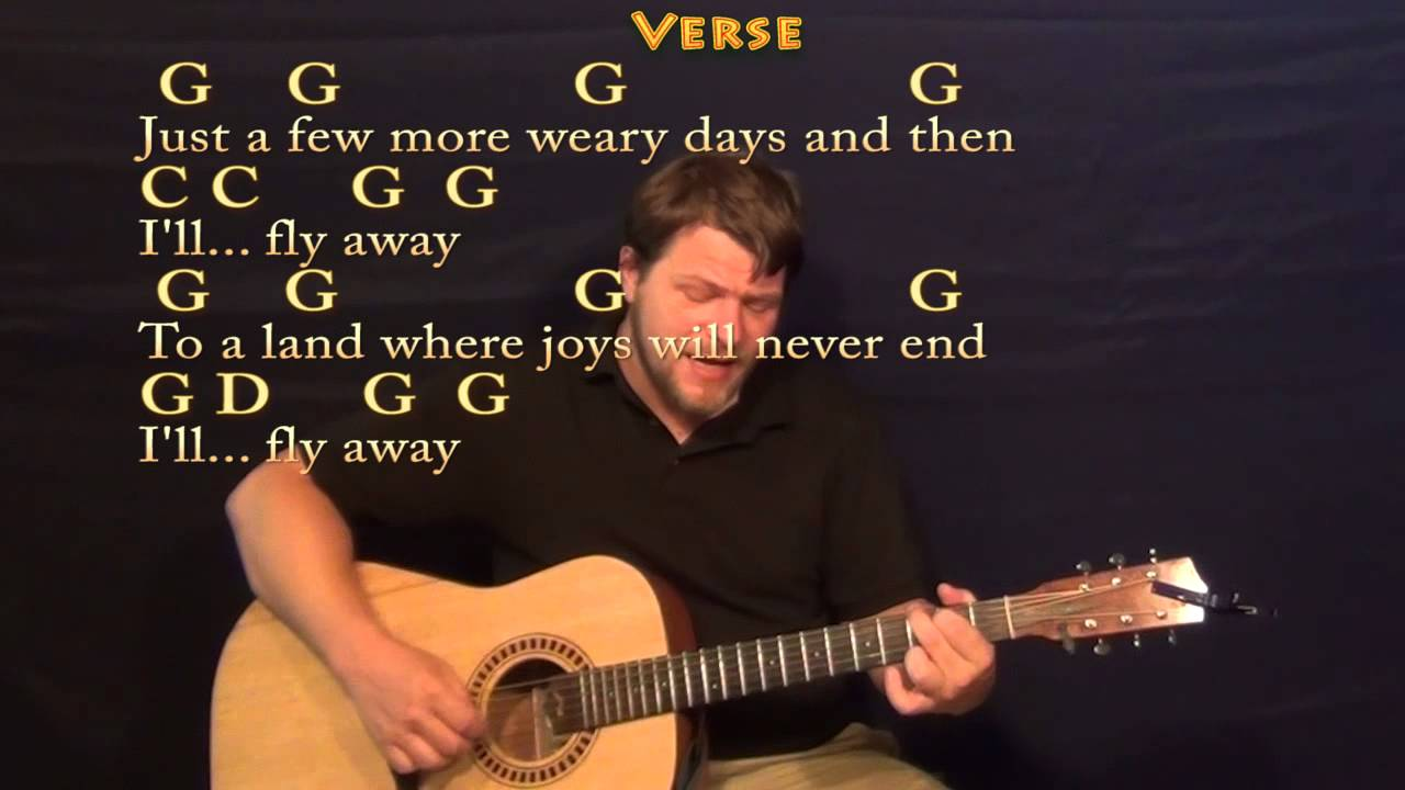 Ill Fly Away Fingerstyle Guitar Cover Lesson With Chordslyrics