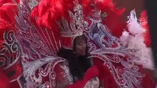 Queen Zulu 2018 toasts at Gallier Hall