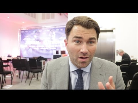 EDDIE HEARN ON JOSHUA v KLITSCHKO, BROOK v SPENCE, TONY BELL