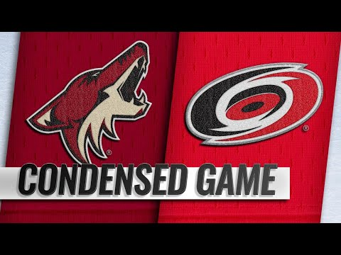 12/16/18 Condensed Game: Coyotes @ Hurricanes