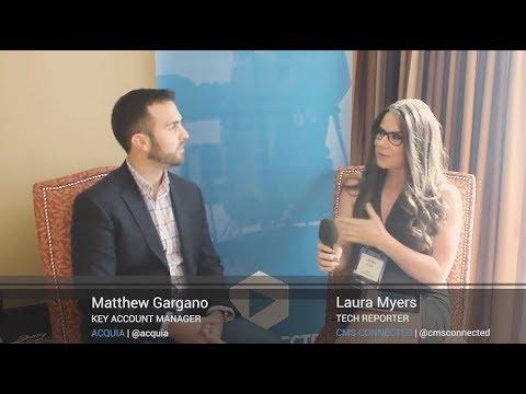 Interview With Matt Gargano At Acquia Engage 2017