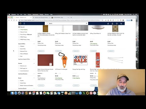 Retail Arbitrage at Walmart : Game Changing Technique
