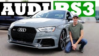 2018 Audi RS3 Sedan Review | Is This The BEST Sports Sedan?
