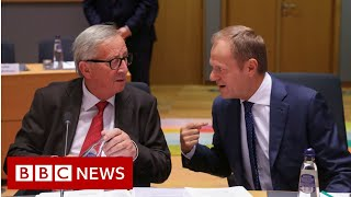 Brexit: Frantic search for a last-minute deal - BBC News