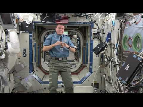 "NASA Astronaut ISS Crew Member Reid Wiseman Discusses Life in Space with ABC's ""Nightline"""