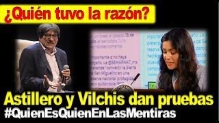 ¿Quién tuvo la razón entre Elizabeth Vilchis y Julio Hdz. Astillero? Los señalamientos fueron mutuos