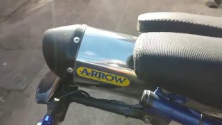 Sachs X-Road 125 Tuning, Arrow exhaust