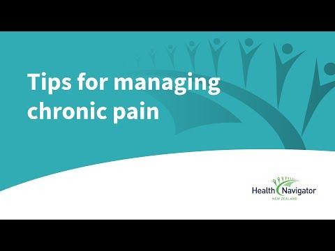 10 tips for managing chronic pain