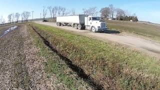 Hauling Grain Manning Farms
