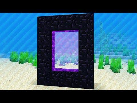 NEW UNDERWATER DIMENSION (Captive Minecraft Survival)