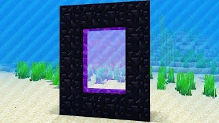 NEW UNDERWATER DIMENSION (Captive Minecraft Survival)