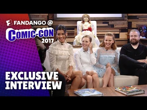 Would You Rather with Cast of 'Annabelle: Creation' | Comic-Con 2017