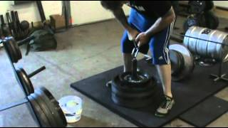 Ironmind Rolling Thunder lift, 119.5 kg, 263 lbs, 6 july 2012