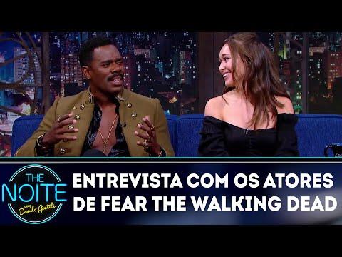 Entrevista com Alycia Debnam-Carey e Colman Domingo | The Noite (10/08/18)