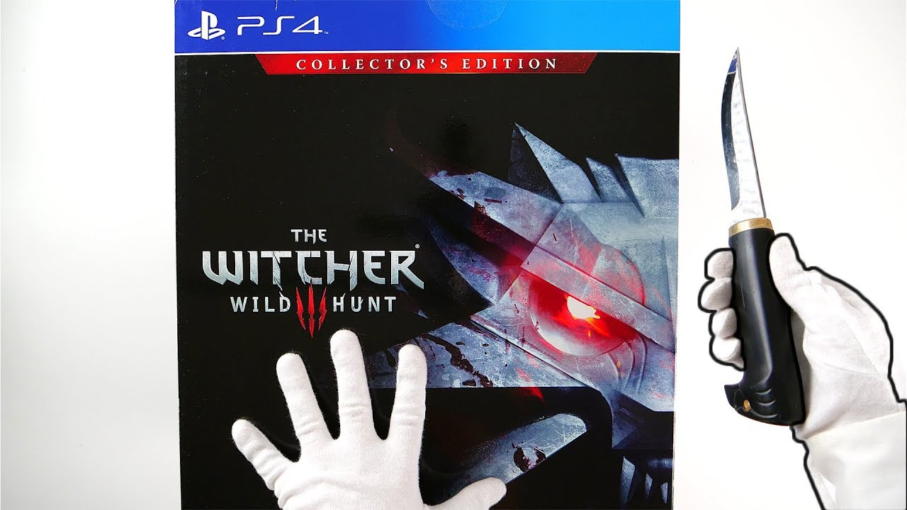 The Witcher 3: Wild Hunt Collector's Edition Unboxing + Ultra Rare