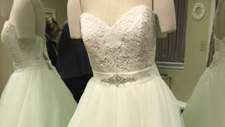 Many brides-to-be scramble to find dresses after Alfred Angelo stores close abruptly