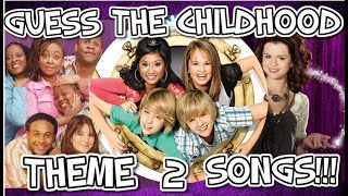 Guess The Childhood Theme Song!!! - Part 2