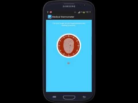 Human Body Temperature Prank, Mobile App