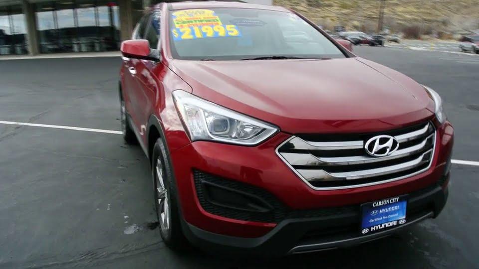 Capital Ford Carson City >> 2016 Hyundai Santa Fe Sport Carson City, Reno, Northern Nevada, Susanville, Sacramento, CA P7874 ...