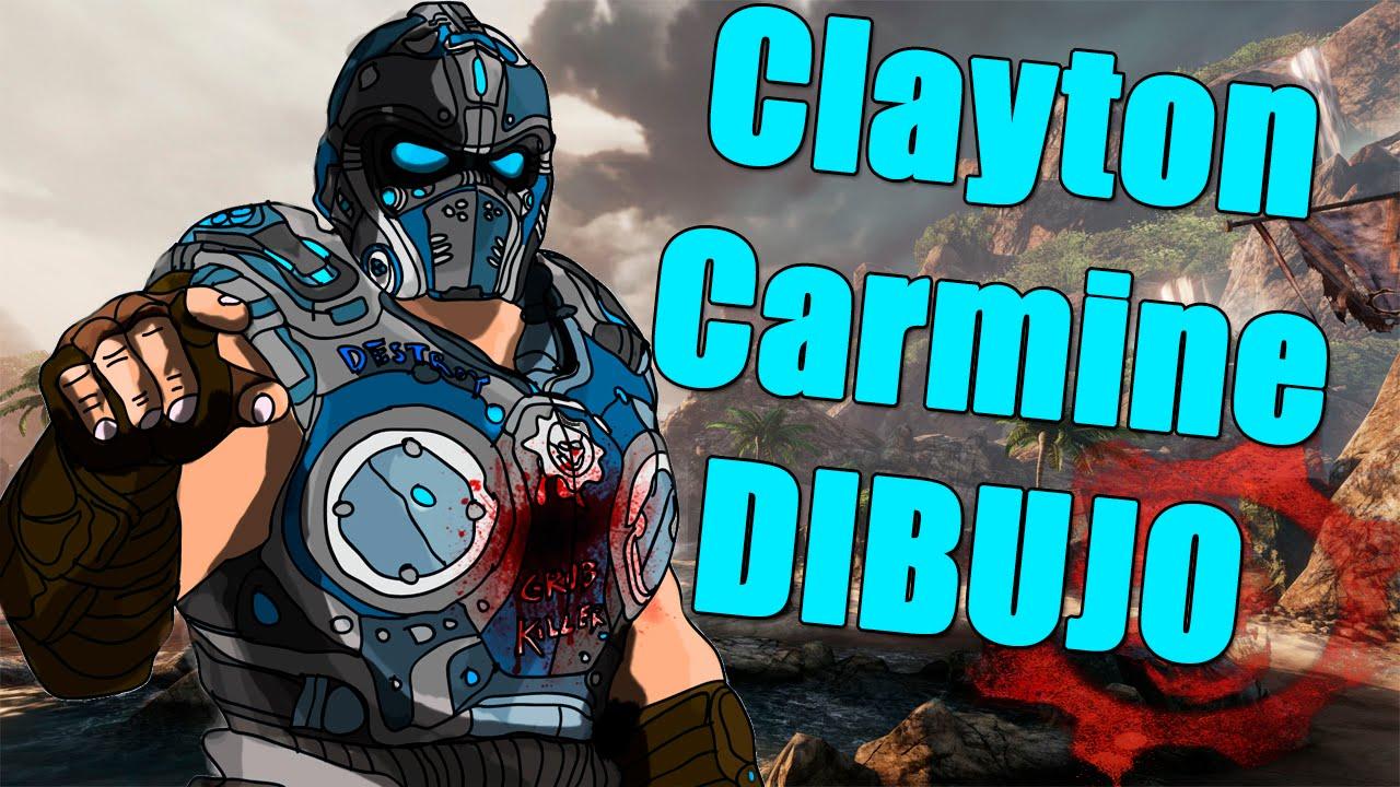Gears Of War Dibujo De Clayton Carmine Youtube