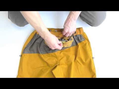 E9 Pol Pocket - Climbing pants with integrated chalk bag ...